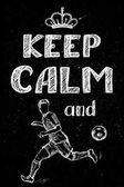 Zachovejte klid a hrát fotbal