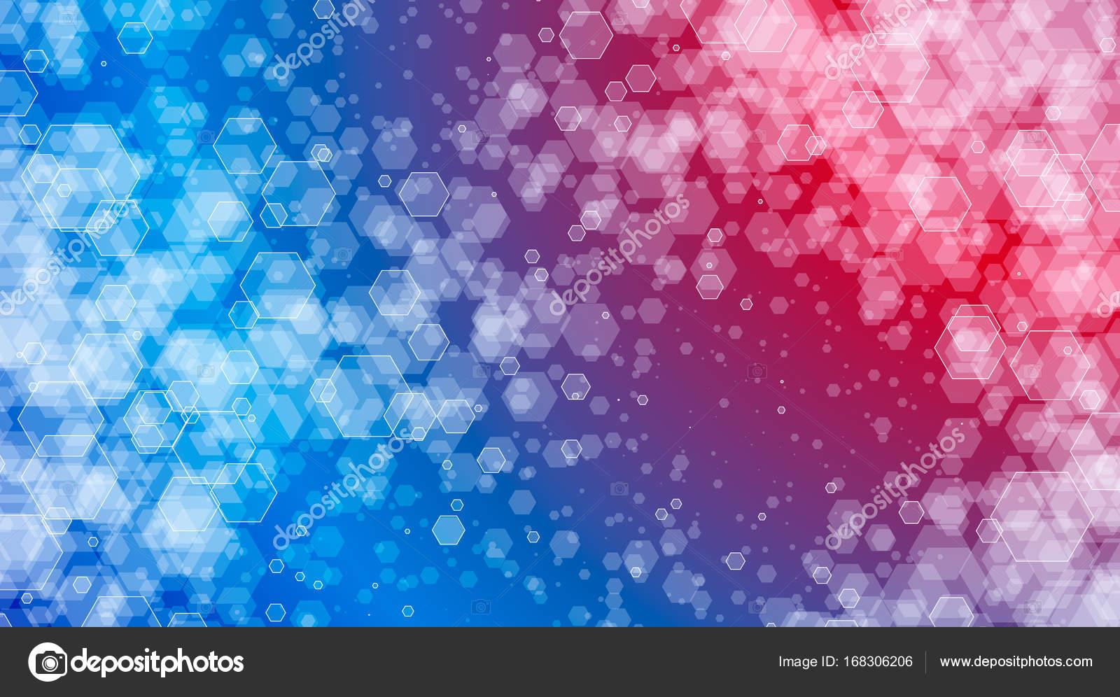 Sfondo Rosso E Blu Sfumato Colorato Rosso E Blu Geometrico Sfondo