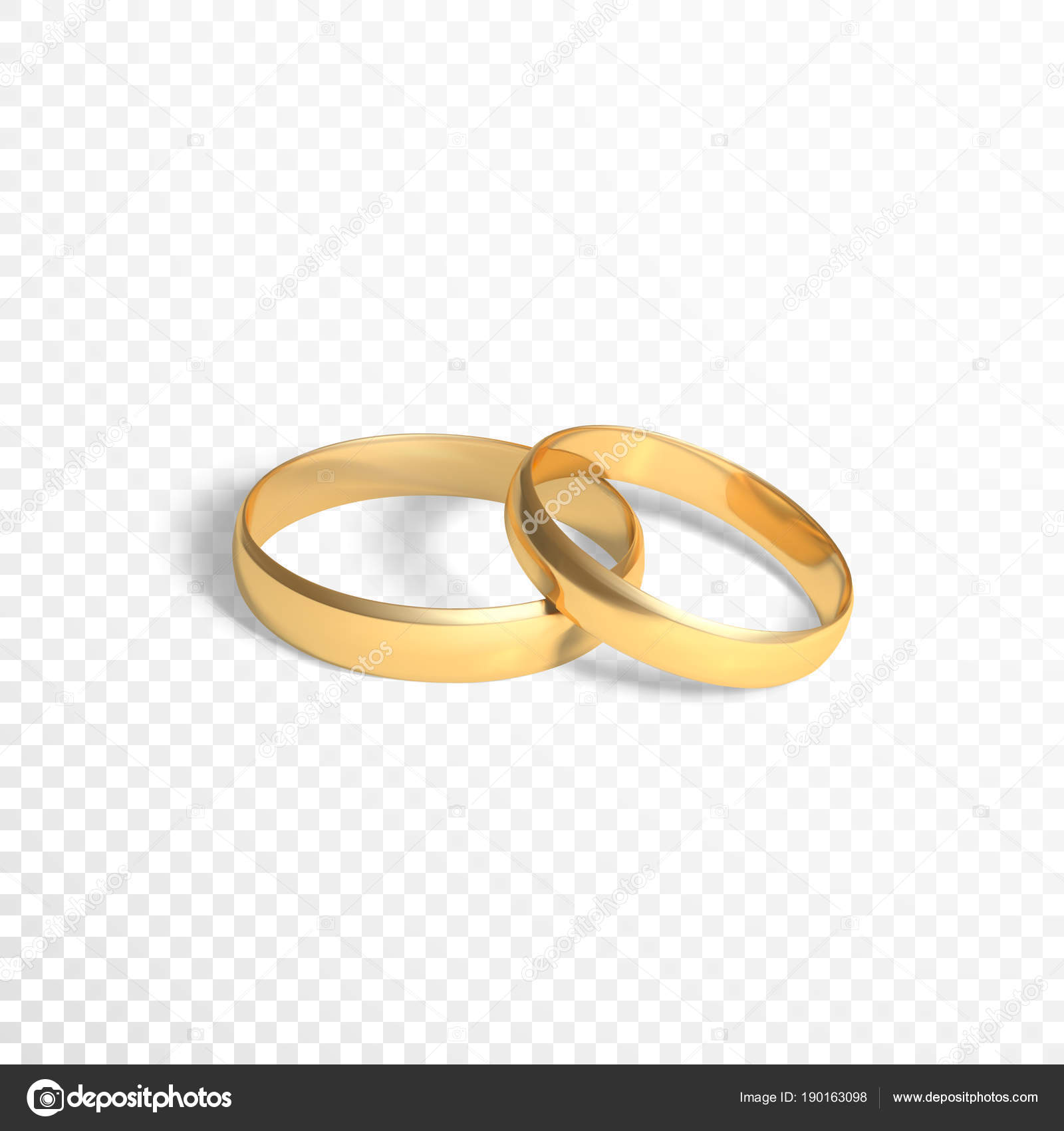 rings illustration shape stock two golden heart image photo shutterstock