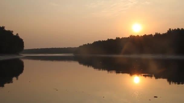 Sunset in Sundarbans