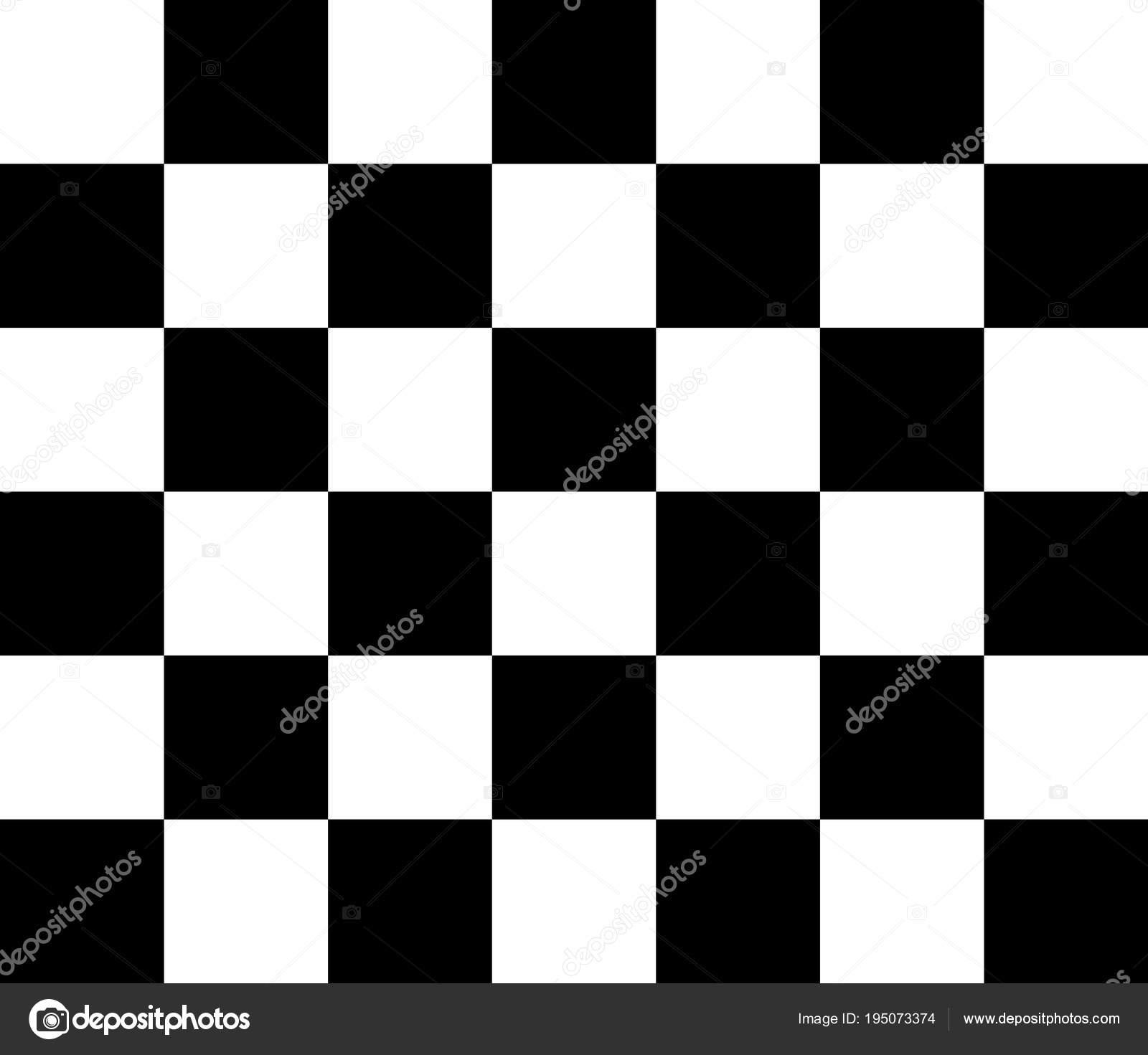 Patrón de vector de tablero de ajedrez blanco y negro — Vector de ...