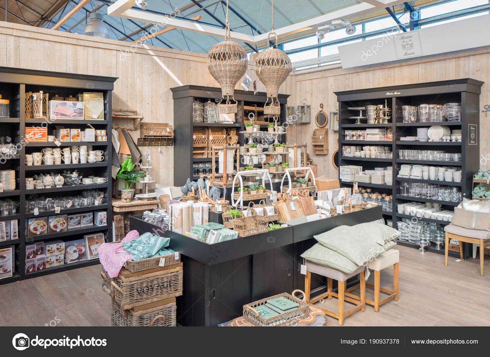 Riviera Maison products in De Bosrand garden center in Wassenaar ...