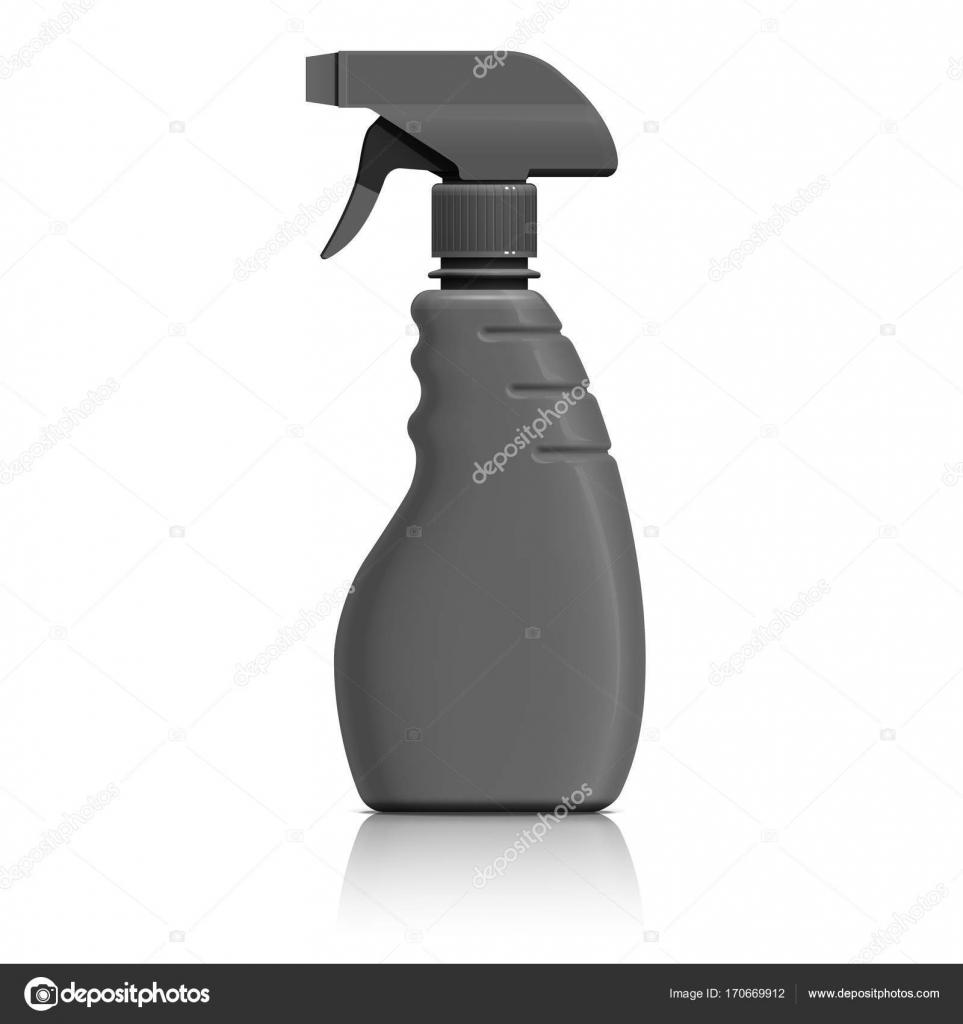 plastová stříkací láhev