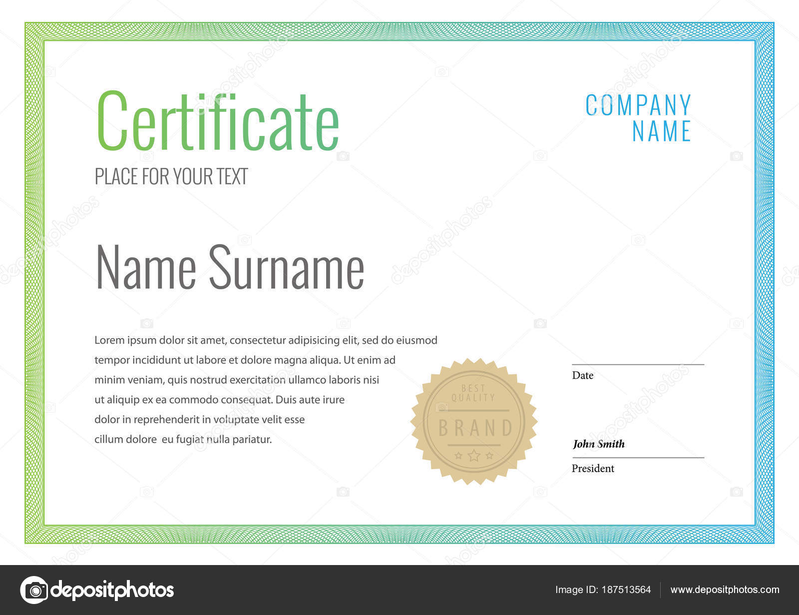 Certificate template diploma currency border award background gift certificate template diploma currency border award background gift voucher vector stock vector yelopaper Gallery