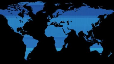 Animation brown world map showing global business finance network hud screen blue earth world map on black background new quality world animated dynamic motion publicscrutiny Image collections