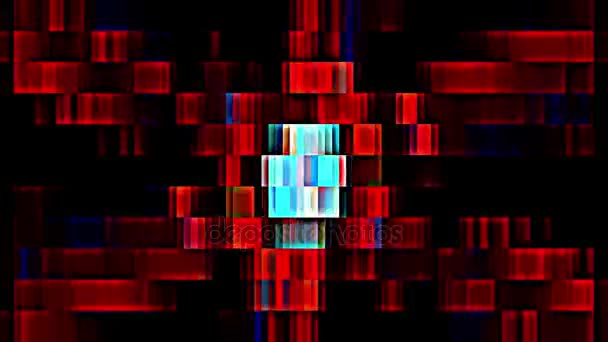 abstract pixel block retro moving background new quality universal