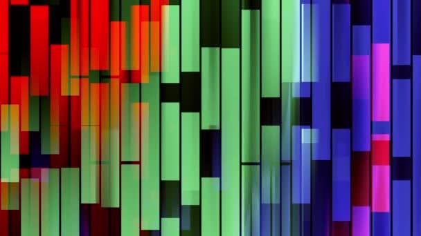 abstraktní měkké duhových barev přesunutí svislého bloku červená zelená modrá pozadí nové kvalitní univerzální pohyb dynamické animované barevné veselé taneční hudební video záběry