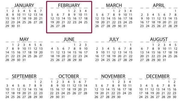 naptári hónap szegély mezőben mozgó-ból jan december animációs háttér