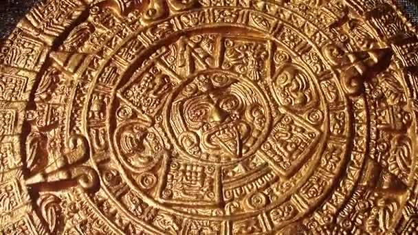 arany kép elforgatása új minőségi történelmi natív felvétel azték nap-kör