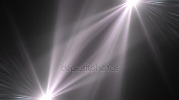 mozgó fények optikai lencse trapéznadrág fényes animáció művészeti háttér - új minőségű természetes világítás lámpa sugarak hatása dinamikus színes világos videofelvétel
