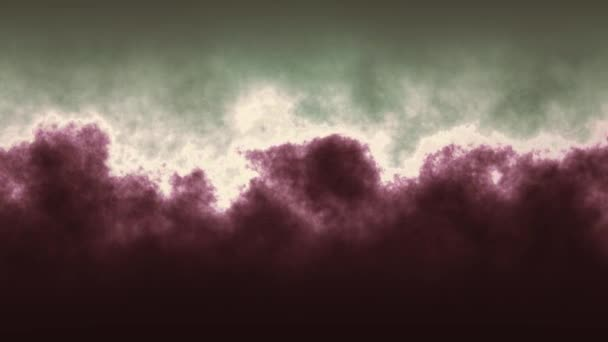 night Cloud turbulence soft abstract animation background - new unique quality colorful joyful motion natural effect wave dynamic holiday science sky video footage