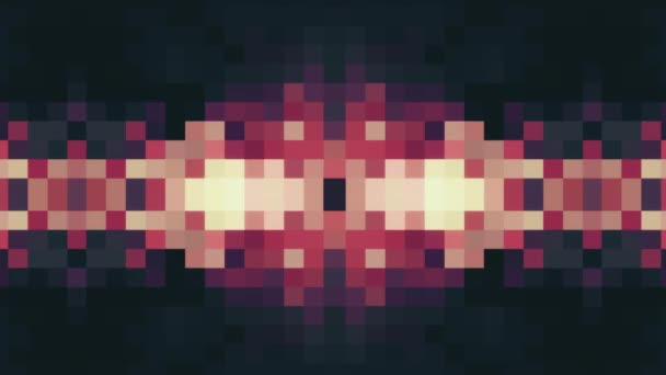 abstract pixel block moving background new quality universal motion