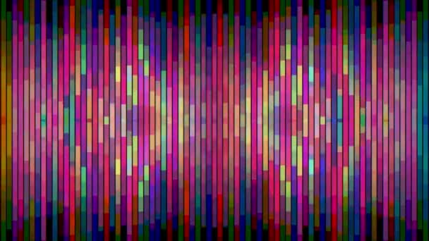 abstract rainbow color moving vertical pixel block background animation New quality holiday universal motion dynamic animated colorful joyful glamour contemporary retro vintage dance music video