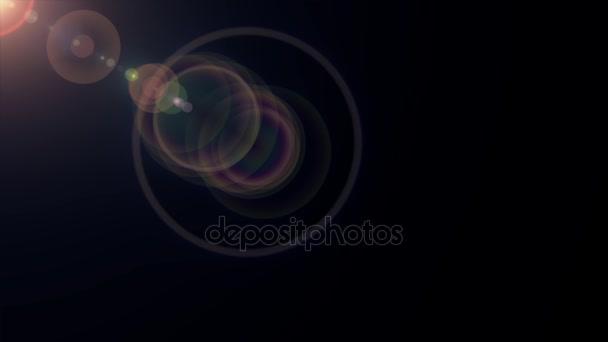 Lente ottica movimento diagonale di luci razzi splendente animazione arte  sfondo ciclo nuova qualità illuminazione naturale 22368030b1
