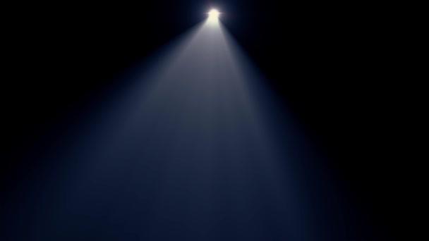 Faretto blu orizzontale spostando la lente ottica luci razzi sfondo arte  animazione lucido - nuova lampada e1d28bdcb4