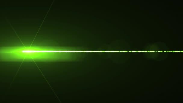 Lente ottica movimento orizzontale del luci laser razzi bokeh brillante  animazione arte astratto - nuova lampada c1898891d5