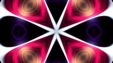 okrasné duhové paprsky světla kaleidoskop etnické kmenové psychedelické vzor animace bezešvé smyčka nový kvalitní retro vintage dovolené nativní barevné univerzální pohybu dynamické radostná Hudba video