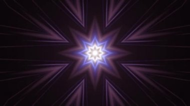 dekorativní světelné paprsky kaleidoskop etnické kmenové psychedelické vzor animace bezešvé smyčka nový kvalitní retro vintage dovolené nativní barevné univerzální pohybu dynamické radostná Hudba video