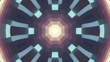okrasné geometrické blok kaleidoskop hvězda pohybuje vzor animace bezešvá smyčka nové kvalitní retro vinobraní dovolená tvar barevné univerzální pohybu dynamický animovaný radostné taneční hudba video záběry