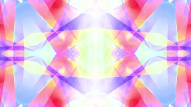 okrasné kaleidoskop měkké crystal abstraktní animace bezešvé smyčka pozadí nové kvalitní retro vinobraní dovolená tvar barevné univerzální motion dynamický animovaný radostná hudba cool video záběry