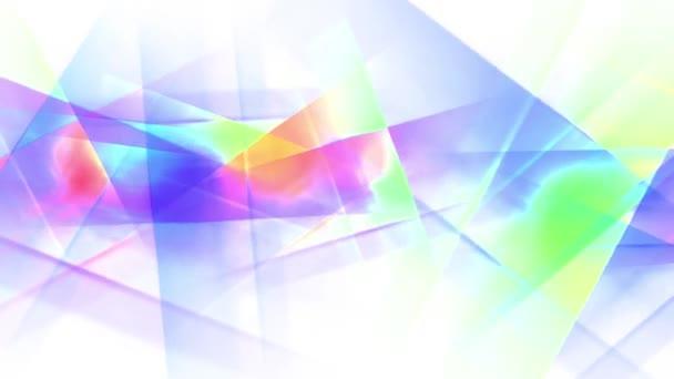 přesouvání, otáčení abstraktní crystal geometrie malba rainbow bezešvé smyčka backgrond animace nové kvalitní umělecké radostné barevné dynamické univerzální cool pěkné video záznam