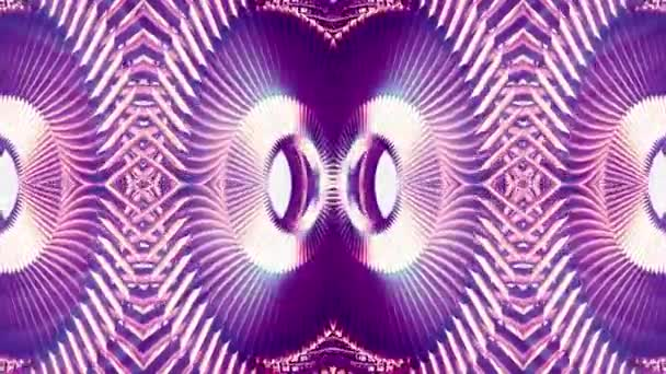 shiny ornamental purple metal chain kaleidoscope seamless loop pattern animation abstract background New quality ethnic tribal holiday native universal motion dynamic cool nice joyful music video