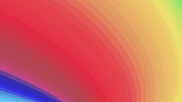 tvaru duhové barvy bezešvé smyčka rotace animace pozadí nové kvalitní univerzální pohyb dynamické animované barevné radostné cool pěkné video záznam