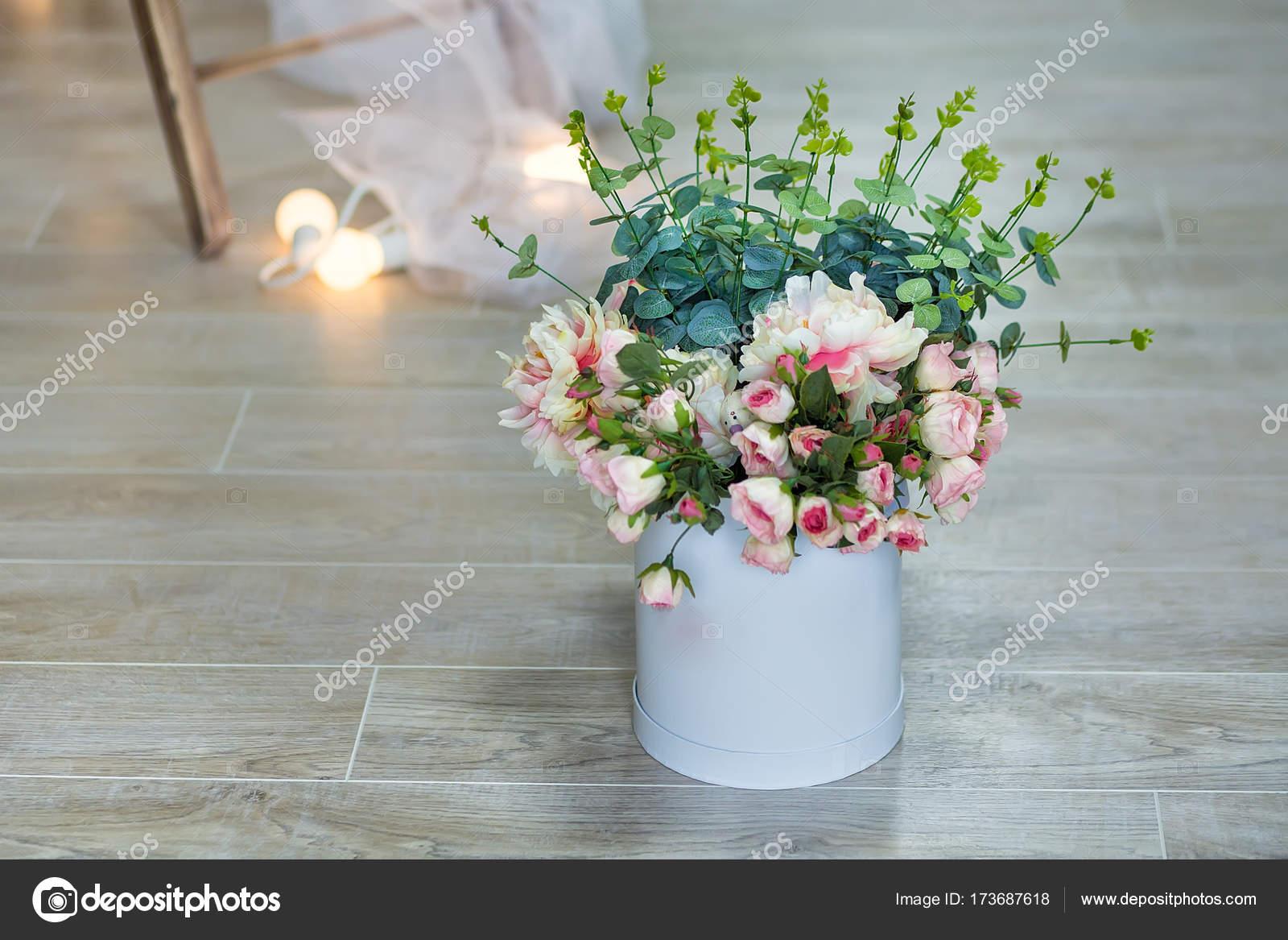 Bouquet of white jasmine flowers in a vase romantic floral still bouquet of white jasmine flowers in a vase romantic floral still life with white jasmine flowers and petals mock orange jasmine philadephus flowers izmirmasajfo