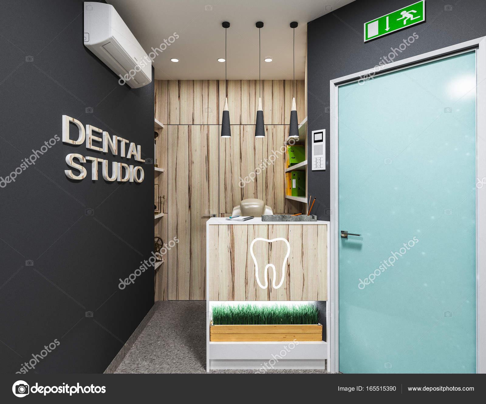 Dental Office Waiting Room Stock Photo Podsolnukh 165515390