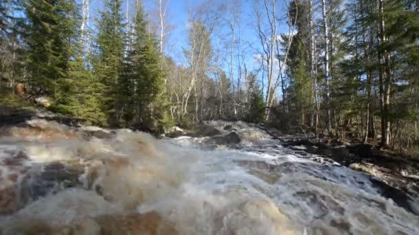 Vodopád na řece Tohmajoki