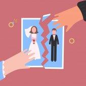 Fényképek Pártfogolta. Férfi- és womantear eltekintve esküvői fotó