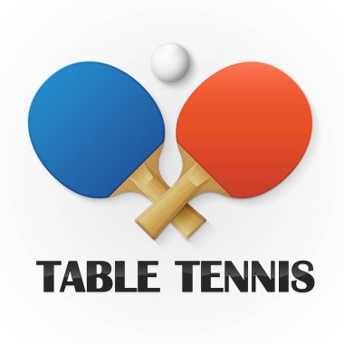 Table tennis background