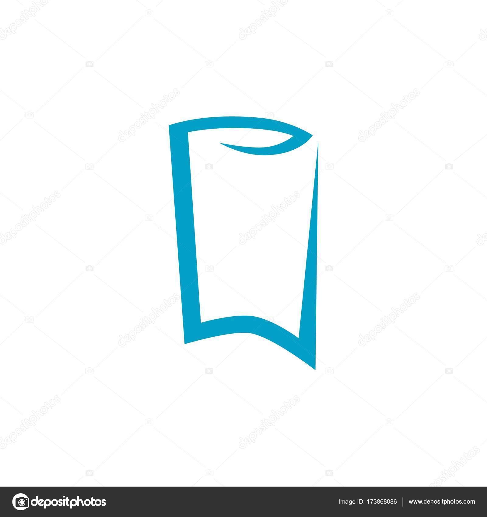 Beyaz Arka Plan üzerinde Soyut Diş Logosu Stok Vektör Umbrosus