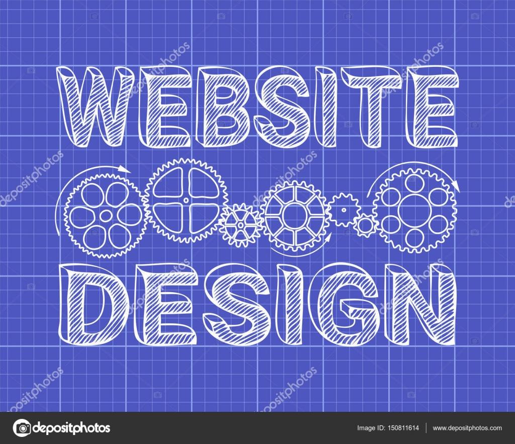 Website design blueprint stock vector eyematrix 150811614 website design blueprint stock vector malvernweather Gallery