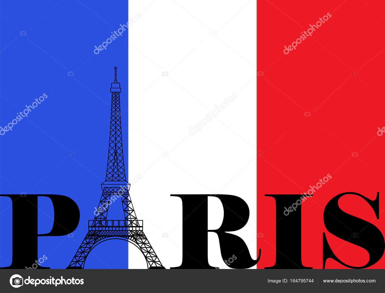 Paris bayrağı (fotoğraf)