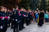 oath of military cadets Lutsk Ukraine 12/10/2019