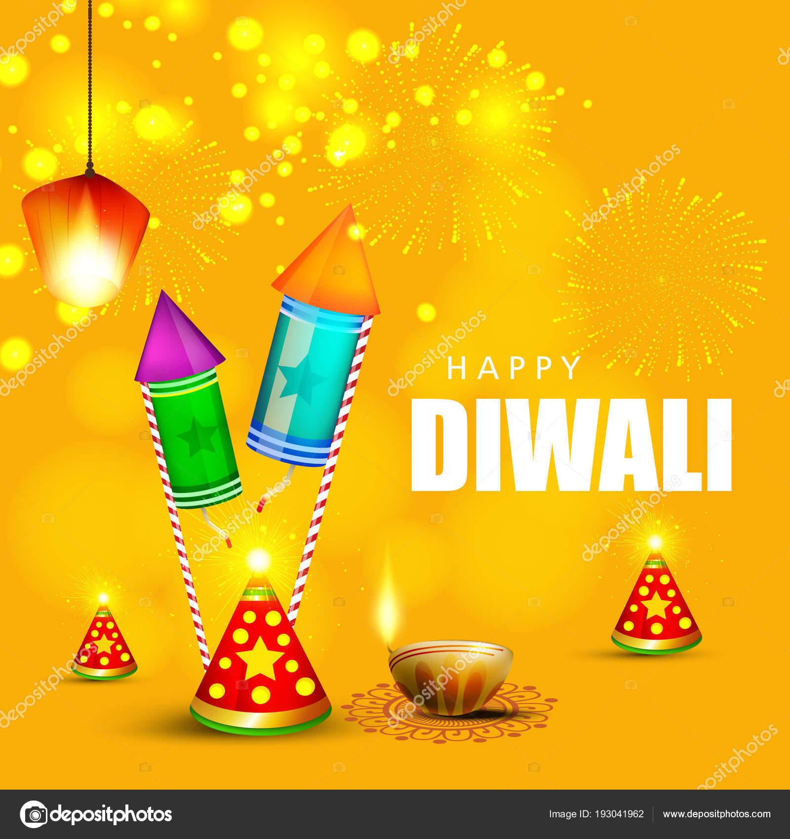 Creative greeting card design happy deepavali festival celebration creative greeting card design for happy deepavali festival celebration vector by nekiart m4hsunfo
