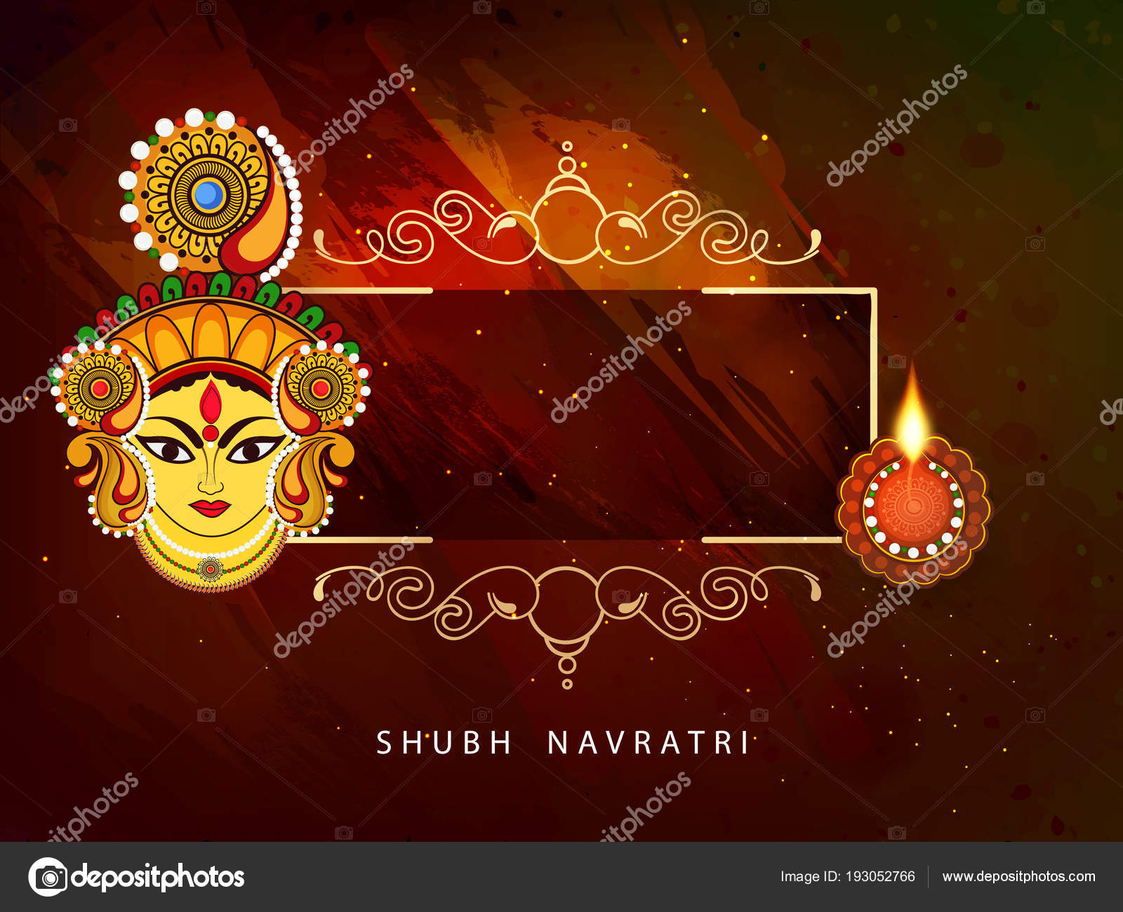 Abstract editable vector hindu festival chaitra navratri 2018 used abstract editable vector for hindu festival chaitra navratri 2018 used as greeting card poster banner and flyer with beautiful rangoli background and m4hsunfo
