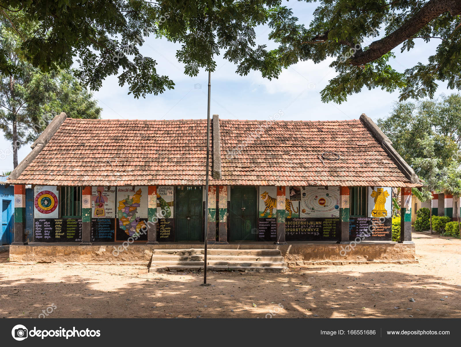 Pictures: school building in india | Government Higher