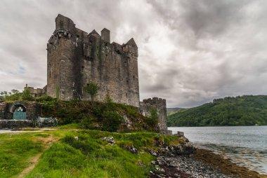Main house and tower of Eilean Donan Castle, Scotland.