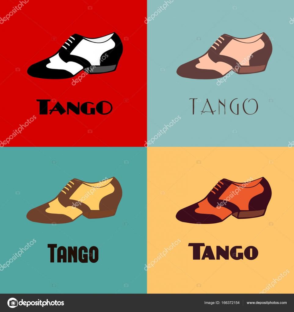 Uomo Disegnato Tango Da Colori Argentino Dell'annata Nei Scarpe Alternativa Manifesto Mano Dancing Parola– Con Di Set In 7B5qwpCdnx