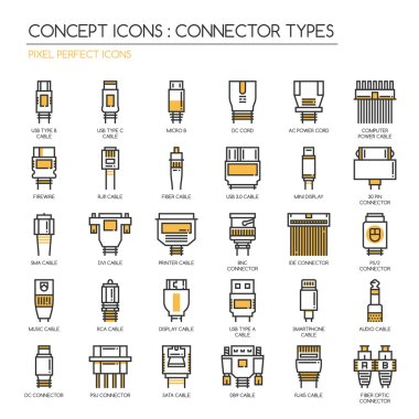 Connector Types Icons