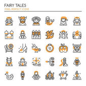Photo Fairy Tales Elements , Thin Line and Pixel Perfect Icon
