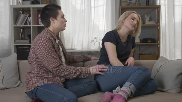 Junge lesbische Vids