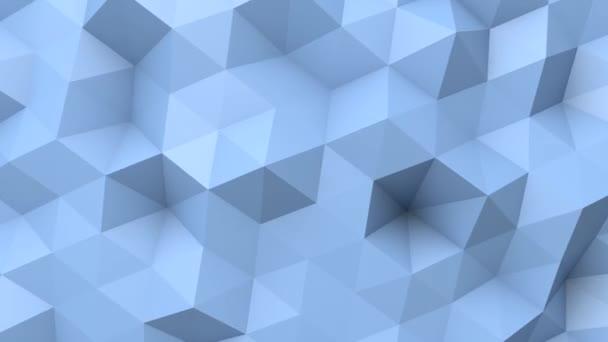 Modré nízké poly textura