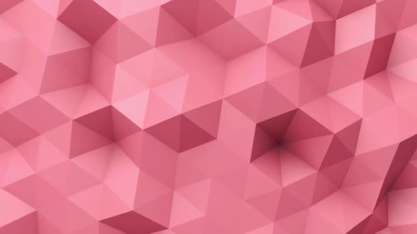 Červené nízké poly textura
