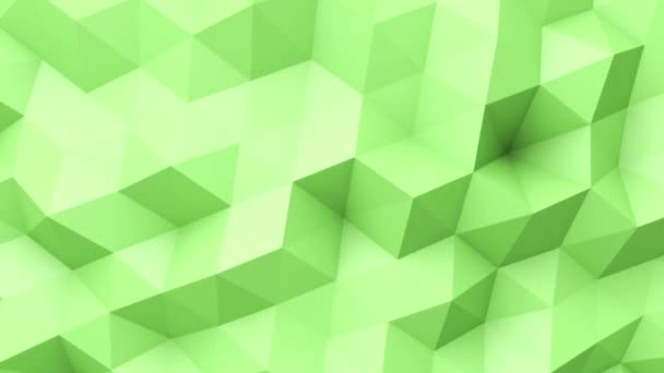 Green low poly texture