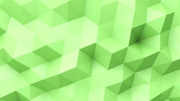 Zelené nízké poly textura