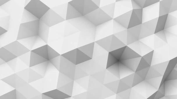 Fehér alacsony poly textúra
