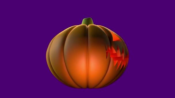 Halloween dýně izolované